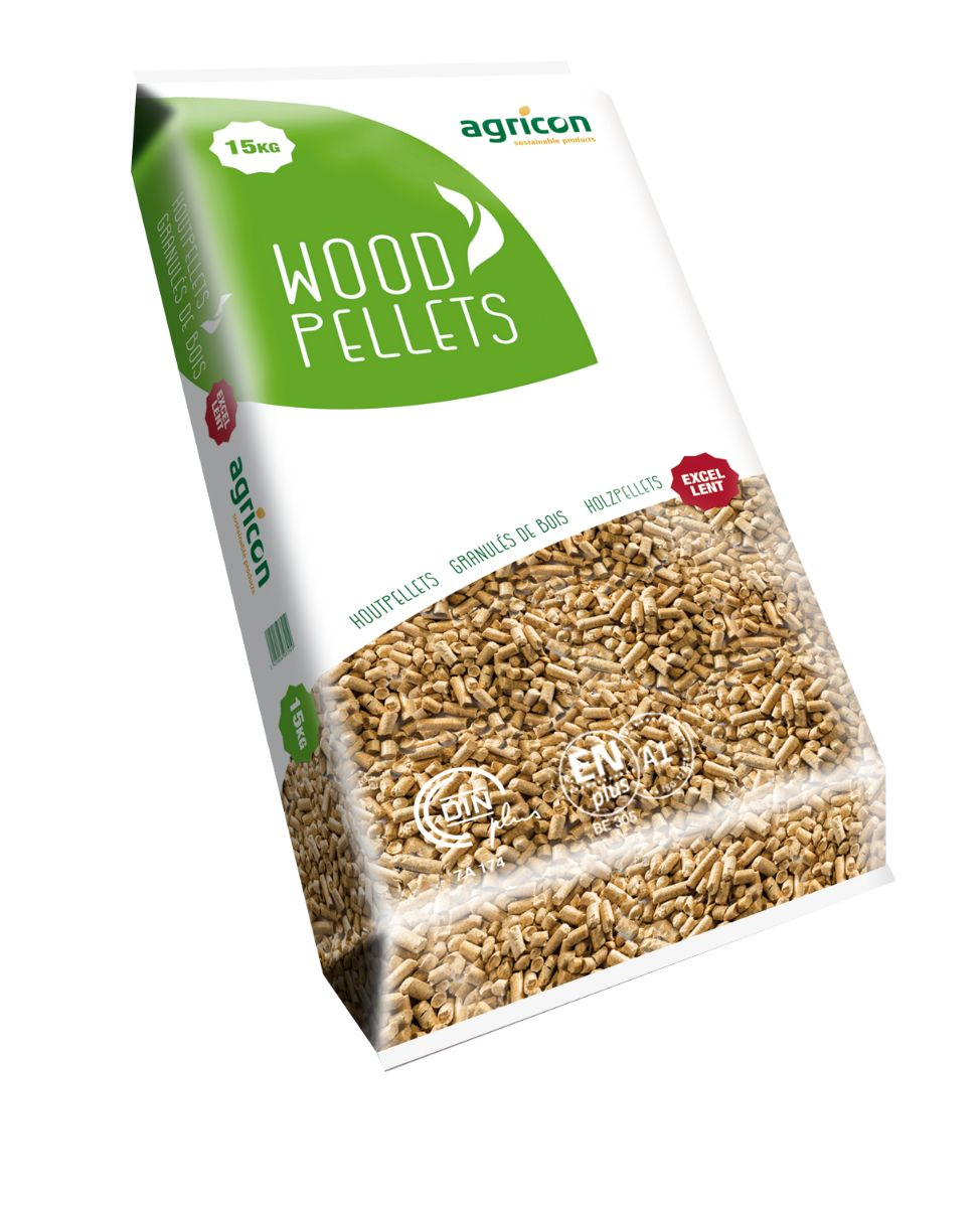 3D Agricon Woodpellets NewStyle 15kg