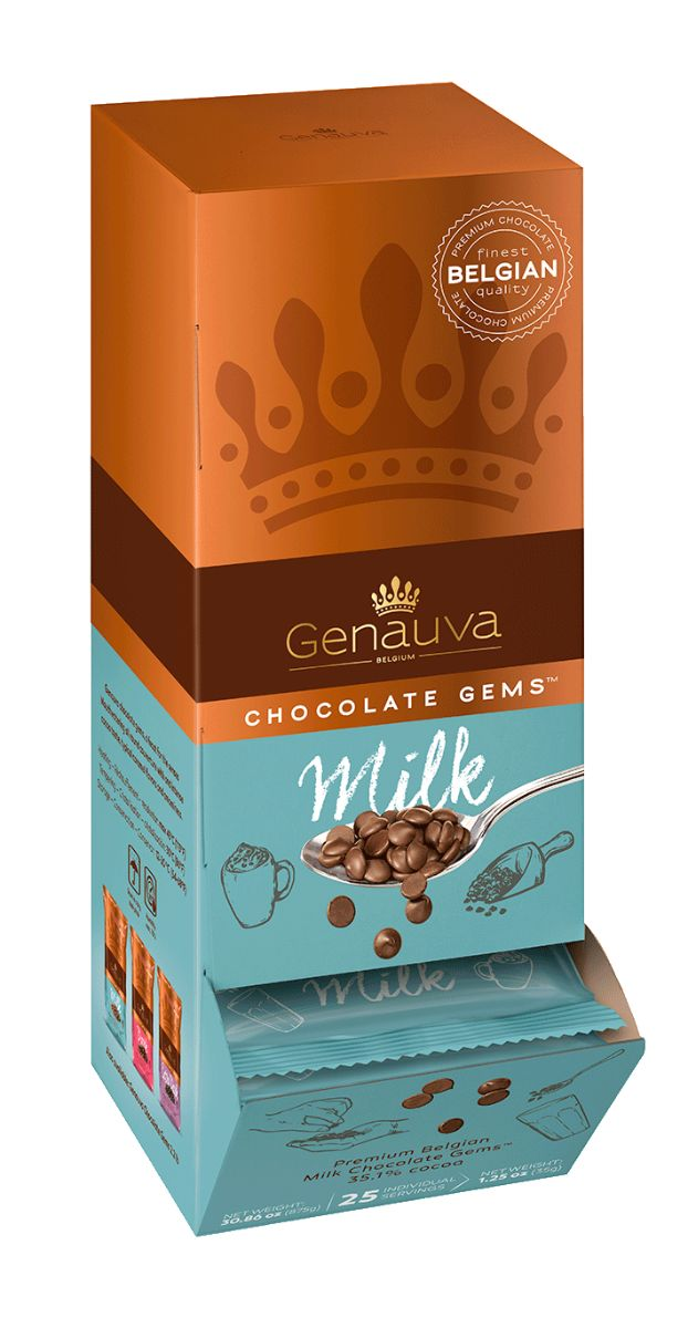 Genauva 25x 35g Packaging Milk 3d